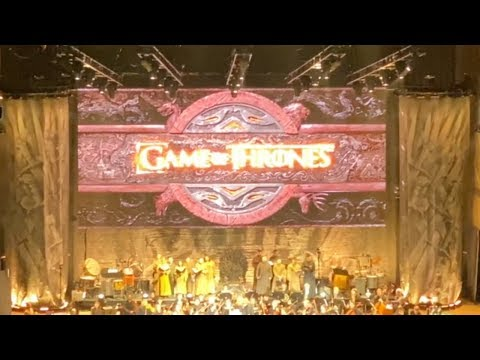 Game Of Thrones Live Concert Full 10/03/2019 Mountain View, California