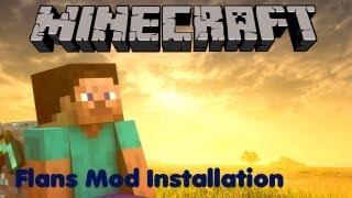 Minecraft Mod Review - Flans Mod 1# - Installation [Deutsch]