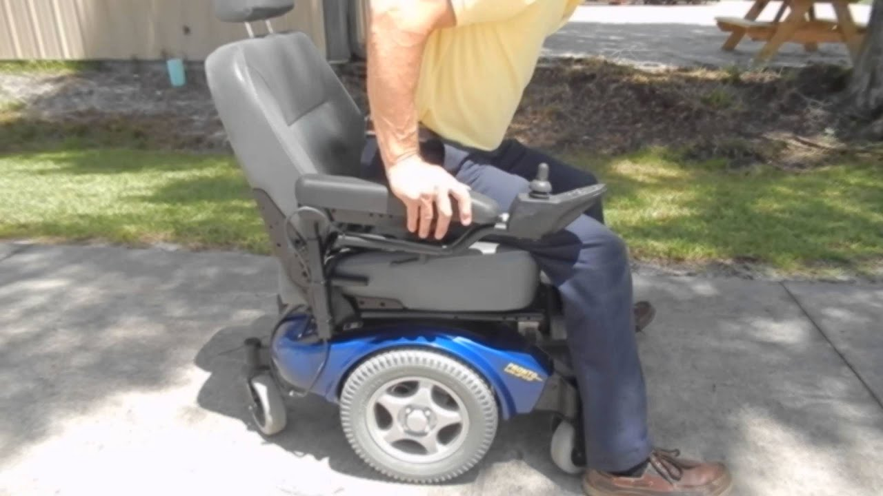Invacare Power Chair High Top Patio Table And Chairs Pronto M91 Like New Fast