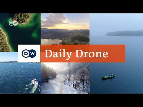 #DailyDrone: Lakes in Germany | DW English