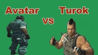 TUROK VS AVATAR Игровой Фильм