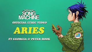 Gorillaz - Aries ft. Peter Hook & Georgia (Official Lyric Video)