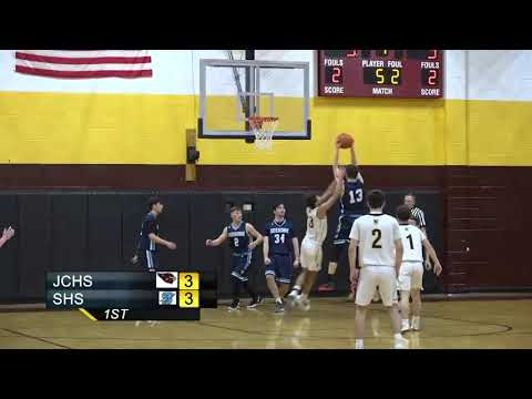 JCHS Boys Basketball vs Seekonk High School