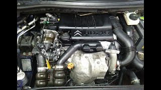 1.6 HDI Peugeot Citroen vaqt kamar ALMASHTIRISH