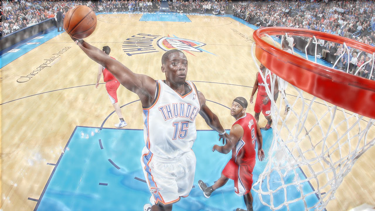 Reggie Jackson: Top 10 Dunks as an OKC Thunder - YouTube