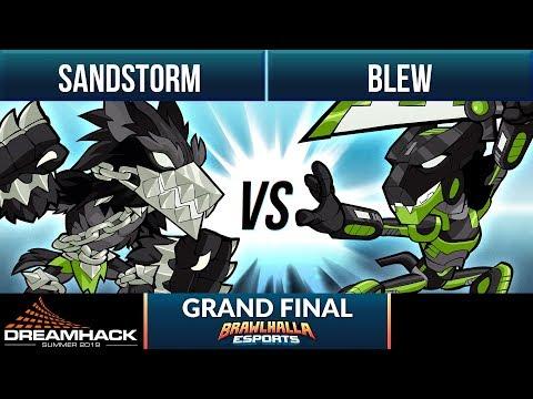Sandstorm Vs Blew - Grand Final - DreamHack Summer 1v1