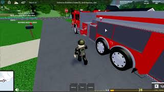 Ultimate Driving Westover Islands - Firefighter job | Roblox
