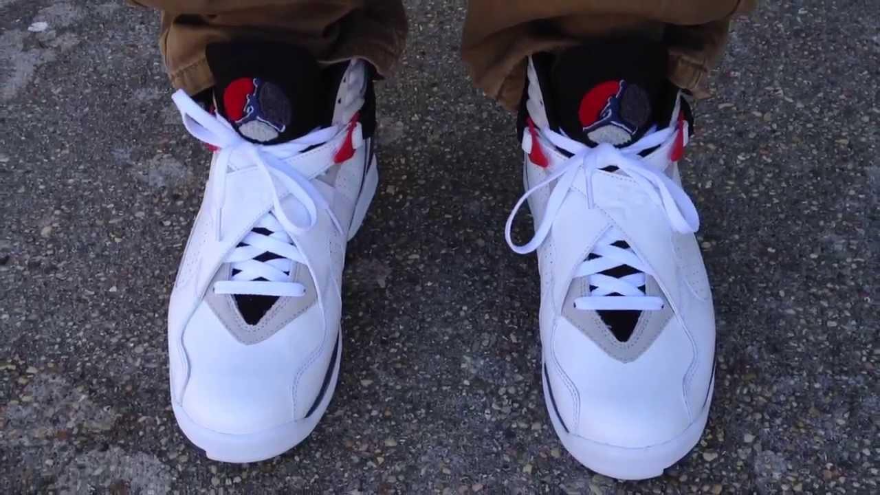 "nike dunk site - Air Jordan 8 VIII Retro ""Bugs Bunny"" on feet - YouTube"