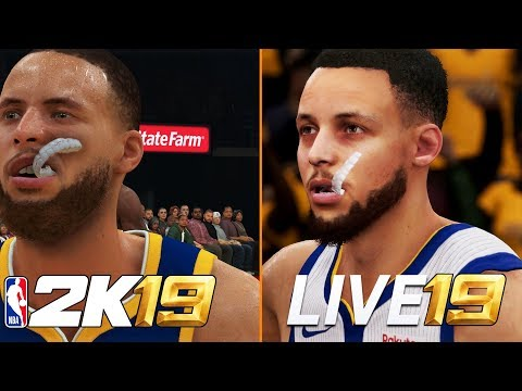 NBA 2K19 Vs NBA LIVE 19 (Graphics/Gameplay/Game Modes/Commentary) Comparison | Which Game Is Better?