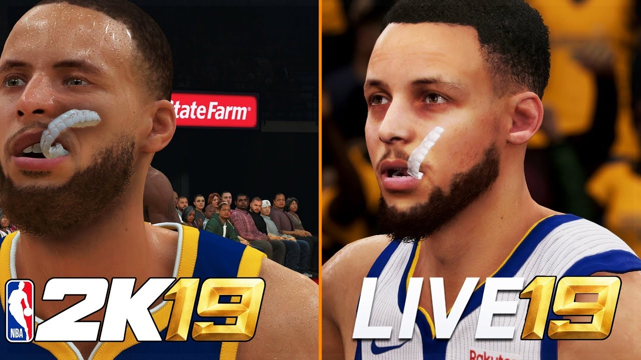 4bff5951a76 NBA 2K19 vs NBA LIVE 19 (Graphics/Gameplay/Game Modes/Commentary ...