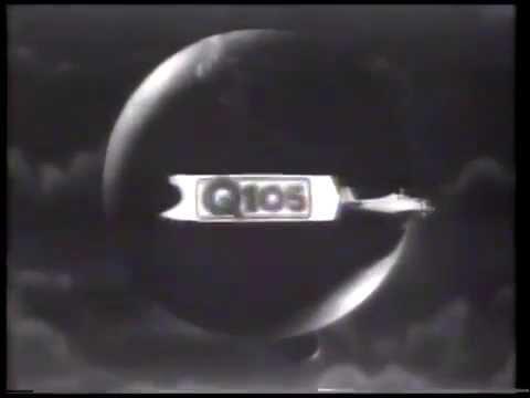 WRBQ-FM Q105 promo ad (1986)
