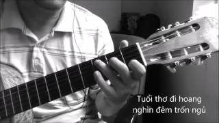 Thanh pho sau lung [Guitar solo] [K'K]
