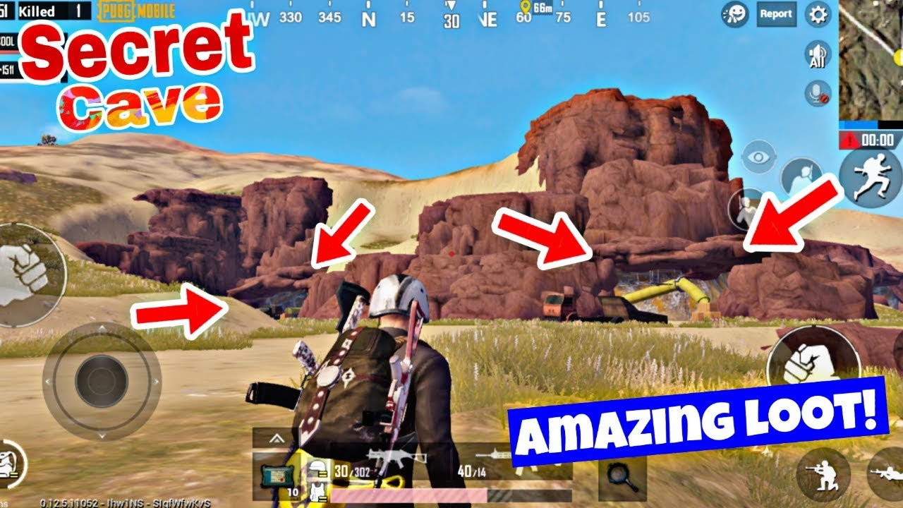 SECRET CAVE IN Miramar MAP | PUBG Mobile 0 13 0 | Amazing