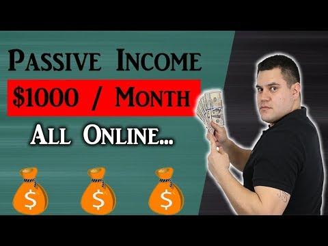 7 Passive Income Ideas (To Earn $1,000+ Per Month)
