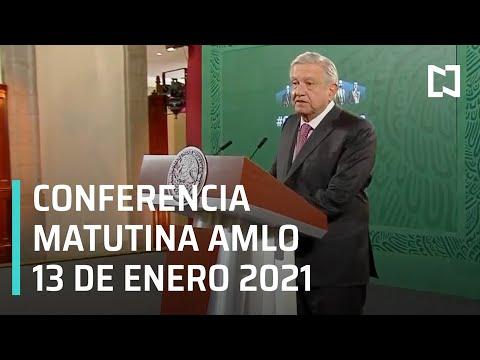 Conferencia matutina AMLO / 13 de enero 2021