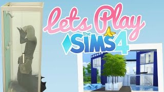 Grim's Endless Gym Shower| Ep. 8 | Let's Play Sims 4