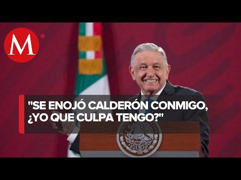 Volvería a saludar a mamá de 'El Chapo': AMLO a Calderón