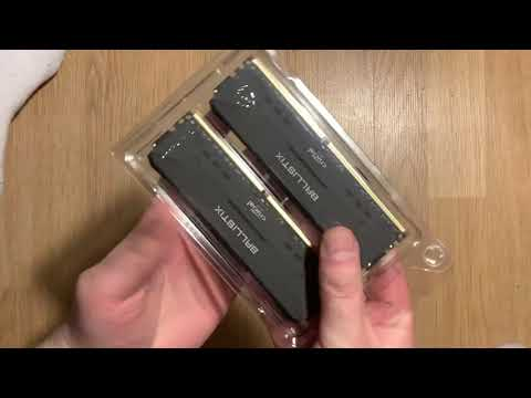 Оперативна пам'ять Crucial DDR4-2666 16384MB PC4-21300 (Kit of 2x8192) Ballistix Black (BL2K8G26C16U4B)
