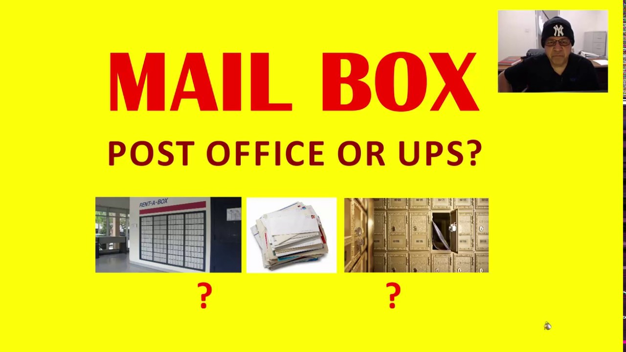 renting a po box at a post office or at a ups store nik nikam youtube. Black Bedroom Furniture Sets. Home Design Ideas