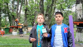 Передача ''Дети в городе''. Веревочный парк S-Park