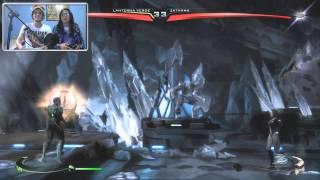 Injustice: God Among Us Multiplayer (PC) - No último segundo! / PT-BR