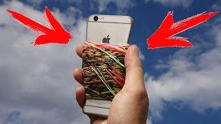 ВОЗМОЖНО ЛИ ВЗОРВАТЬ iPhone 6s С ПОМОЩЬЮ РЕЗИНОК ?!