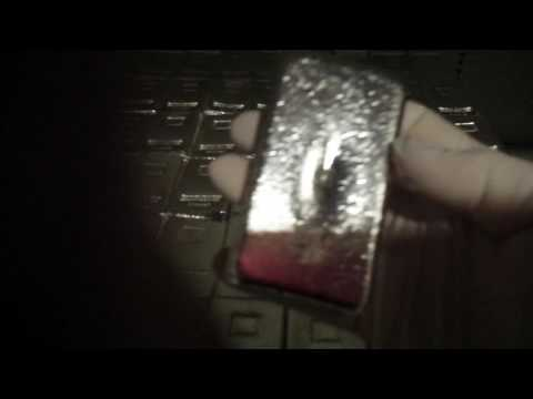 20,000 ounces of .999 hand poured silver bars by Atlantis Mint