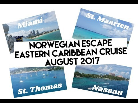 Norwegian Escape Eastern Caribbean Cruise  2017