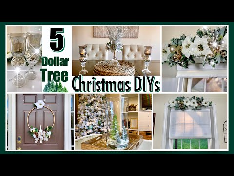 Dollar Tree CHRISTMAS DIYs
