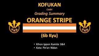 Grading Summary: Orange Stripe (Cadet)