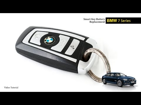 how to change replace smart key fob battery bmw 1 3 doovi. Black Bedroom Furniture Sets. Home Design Ideas