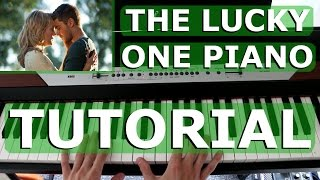 The Lucky One Film Piano Tutorial!! mp3