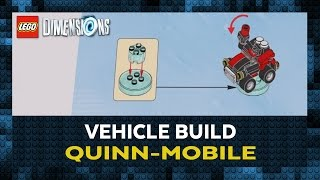 Lego Dimensions - Quinn-mobile Construction