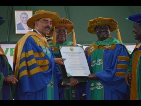 Uhuru, Raila get honorary Jaramogi university degrees for peace deal