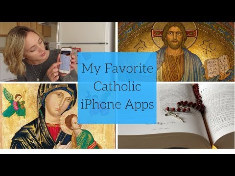 My Top 3 Favorite Catholic Apps 2018