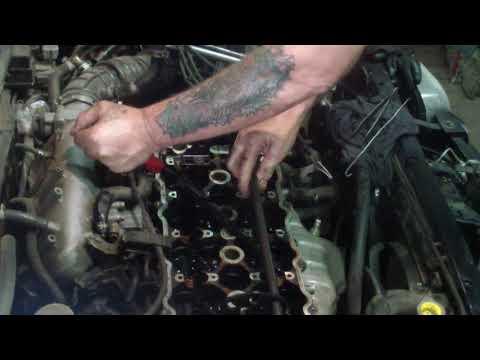 Фото к видео: NISSAN PRESEA двс SR18DE замена сальников клапанов.