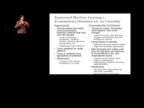 susan athey machine learning