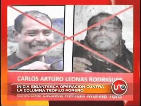 Inicia gigantesca operación contra la columna Teófilo Forero de las FARC