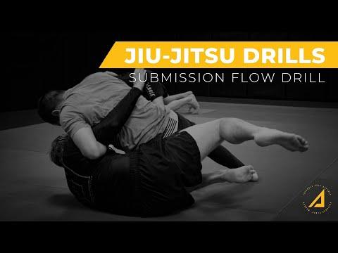 Jiu-Jitsu Submission Flow Drill