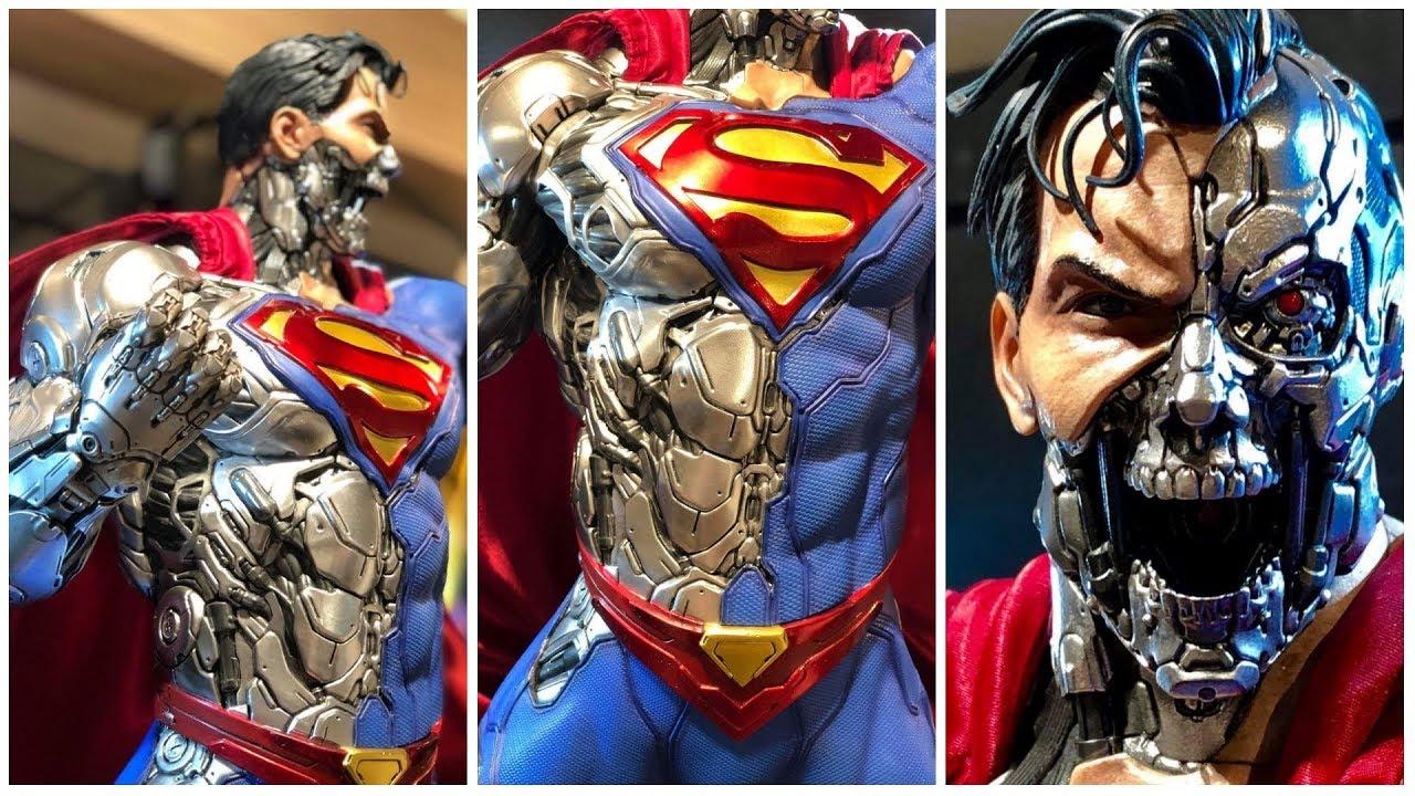 DAFUQ SUPERMAN TERMINATOR Cyborg Statue by Prime 1 Studio ...
