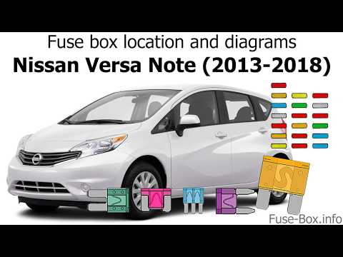 Fuse box location and diagrams: Nissan Versa Note / Note (2013-2018) -  YouTubeYouTube