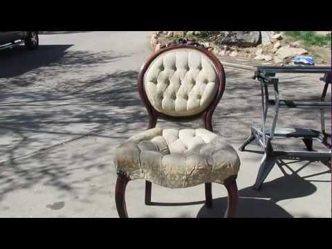 Diy - Antique chair refinish