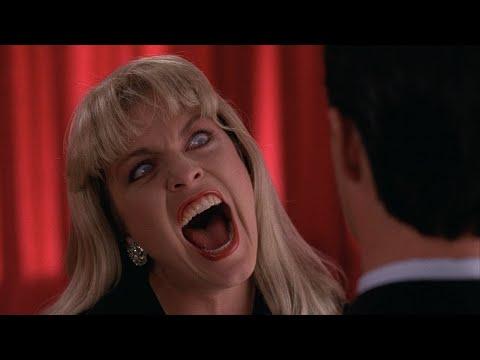 Твин Пикс. Очень страшная сцена в красной комнате