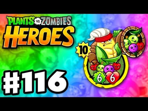Cornucopia Legendary! - Plants vs. Zombies: Heroes - Gameplay Walkthrough Part 116 (iOS, Android)