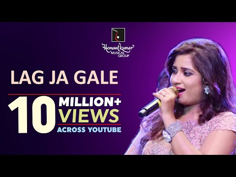 Shreya Ghoshal sings Lag Ja Gale Once More with Symphony Orchestra of Hemantkumar Musical Group