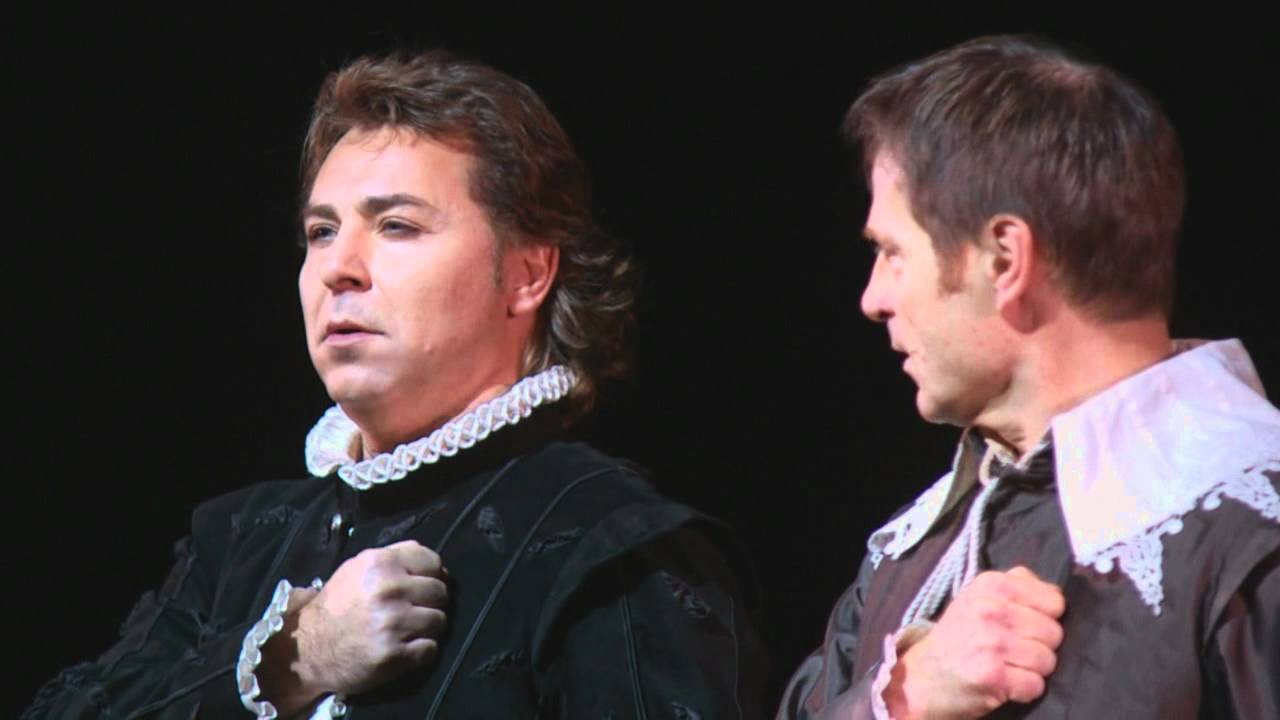 """Don Carlo: """"Dio, che nell'alma infondere"""" -- Roberto Alagna & Simon Keenlyside (Met Opera)"""