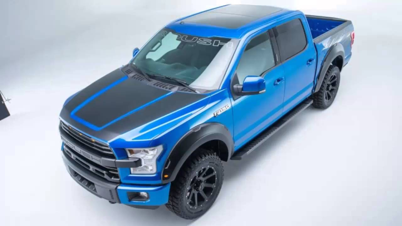 roush f 150 in blue flame metallic it s a mean ford in cars ford youtube. Black Bedroom Furniture Sets. Home Design Ideas