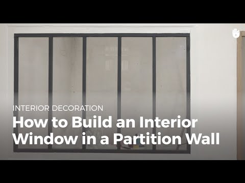 How To Build An Interior Window In A Partition Wall | DIY Projects