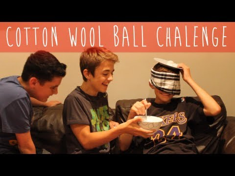 Cotton Wool Ball Challenge