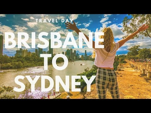 Brisbane To Sydney, To Meet Our Friend From The UK!